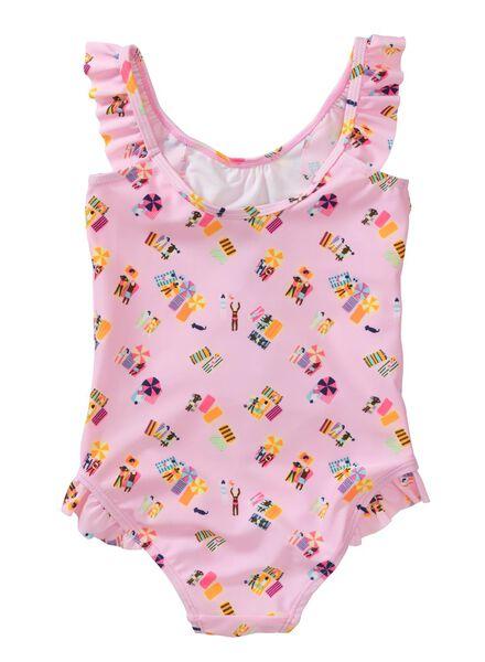 kinder badpak roze roze - 1000002628 - HEMA