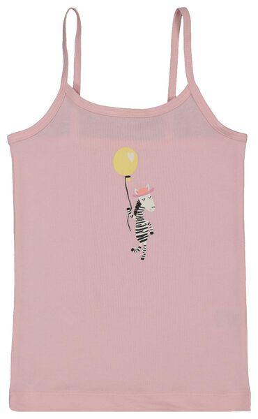 2-pak kinderhemden roze roze - 1000018020 - HEMA