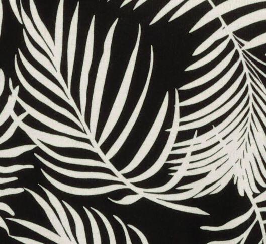 damessinglet zwart/wit - 1000019448 - HEMA