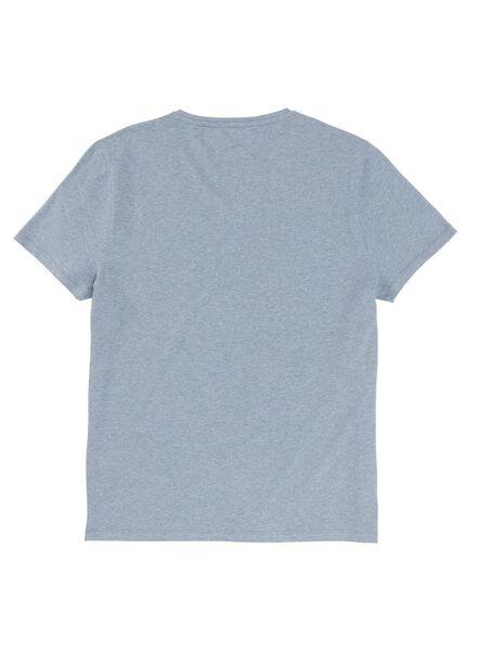 heren t-shirt lichtblauw lichtblauw - 1000009016 - HEMA