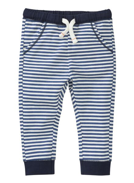 2-pak baby broeken grijsmelange grijsmelange - 1000004274 - HEMA