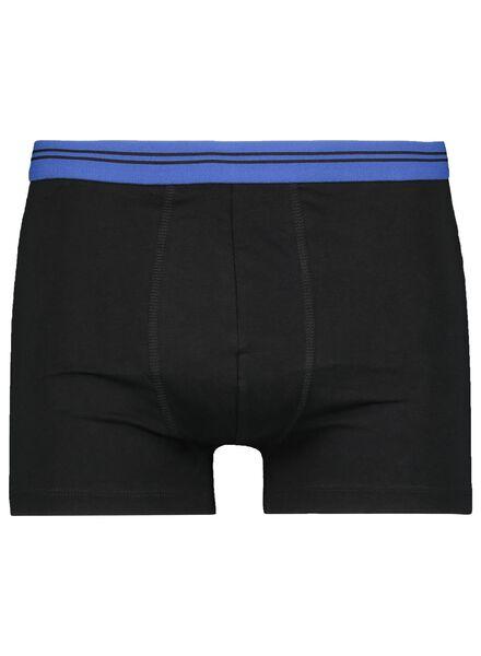 3-pak herenboxers kort zwart zwart - 1000015715 - HEMA