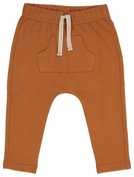 baby sweatbroek bruin bruin - 1000020593 - HEMA