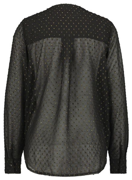 dames top zwart S - 36222566 - HEMA