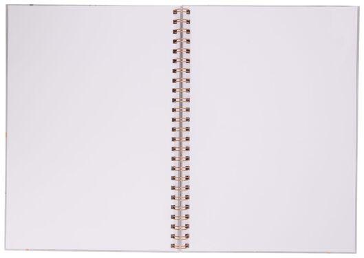 Plakboek blanco 32.5x23 marmer