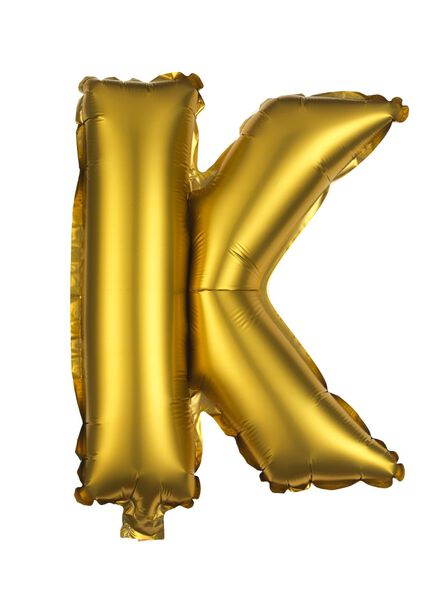 foil ballon K - 60810157 - HEMA
