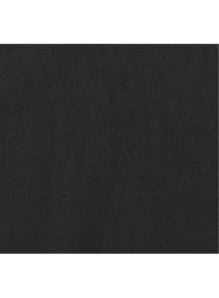 2-pak herenhemden zwart zwart - 1000009783 - HEMA