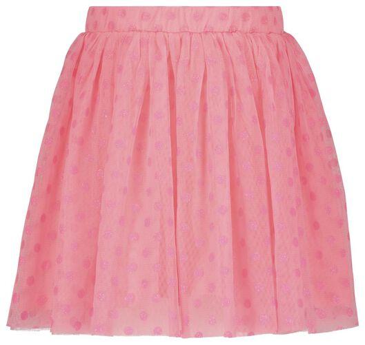 kinderrok met tule roze roze - 1000020307 - HEMA