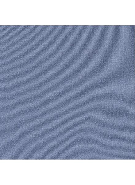dameshemd naadloos met bamboe blauw blauw - 1000013388 - HEMA