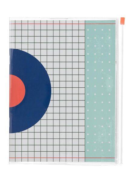 ziplock notitieboek A5 gelinieerd - 14101360 - HEMA