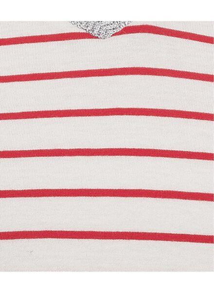 dames t-shirt gebroken wit - 1000009394 - HEMA