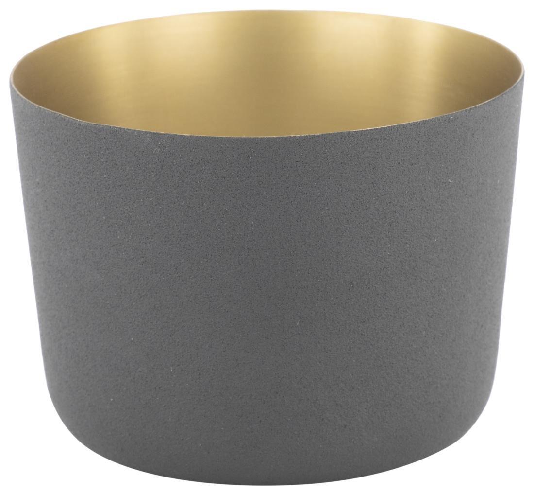 HEMA Waxinelichthouder Ø8x5.5 Metaal Zwart (zwart)