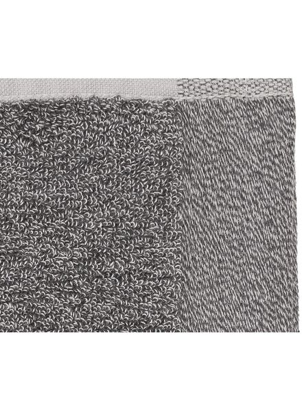 handdoek - 50 x 100 cm - bamboe - donkergrijs - 5200112 - HEMA