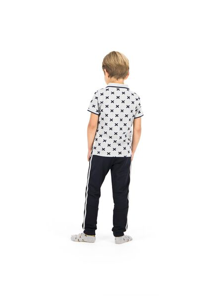 kindertrainingsbroek zwart zwart - 1000013950 - HEMA