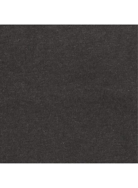 2-pak tiener soft tops zwart/wit zwart/wit - 1000002558 - HEMA