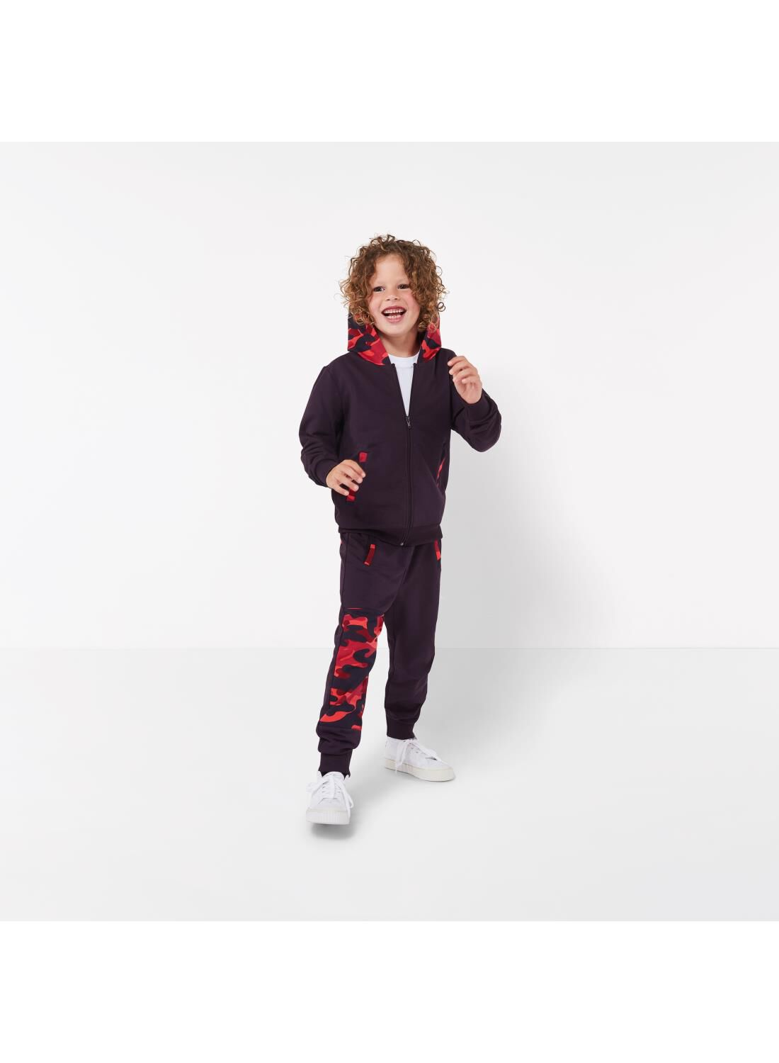 Bananas&Bananas Kinder Sweatbroek - Bananas&Bananas Rood (rood)