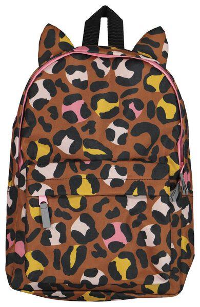 kinderrugtas luipaard 35x25x10 - 18454001 - HEMA