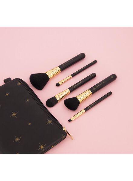 kwastenset met make-up tasje - 11290007 - HEMA