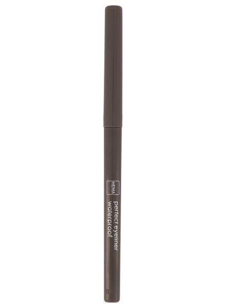 perfect eyeliner waterproof 52 mid brown - 11210152 - HEMA
