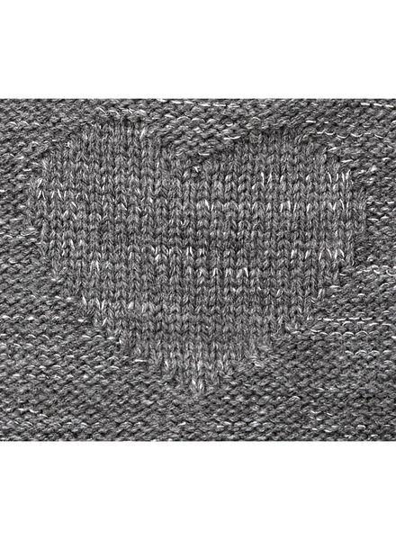 kindermuts grijsmelange grijsmelange - 1000009872 - HEMA