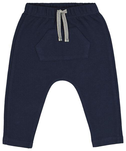 baby sweatbroek donkerblauw donkerblauw - 1000020197 - HEMA