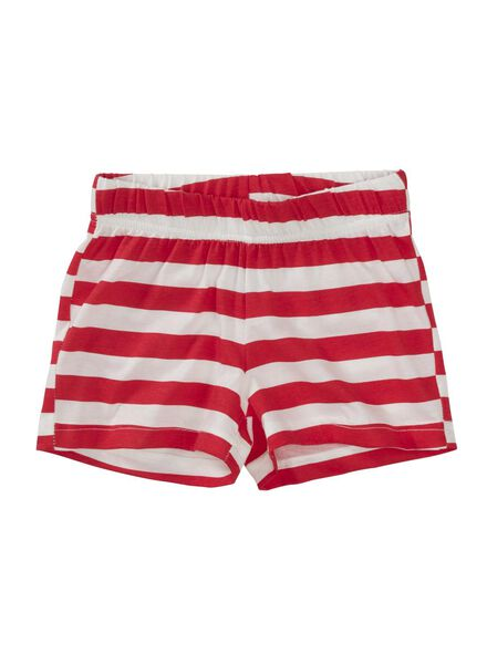 kinder shortama rood rood - 1000012427 - HEMA