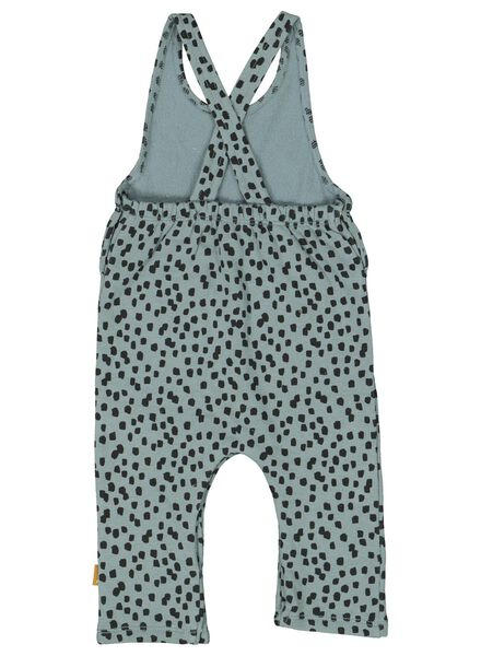 newborn jumpsuit blauw blauw - 1000014178 - HEMA