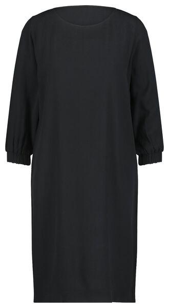damesjurk zwart S - 36258066 - HEMA