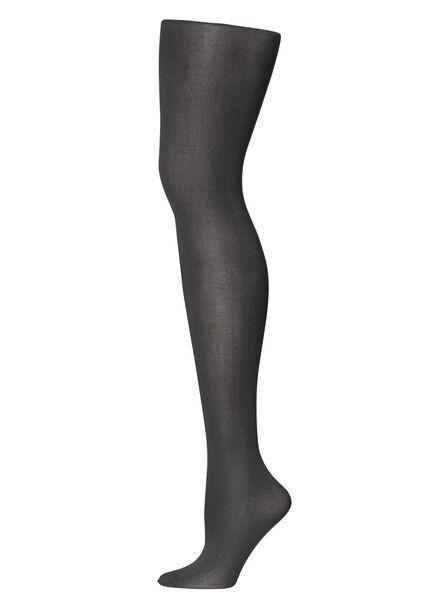 panty warme voeten 60 denier zwart zwart - 1000012012 - HEMA