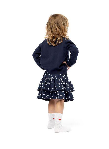 kinderrok donkerblauw donkerblauw - 1000013682 - HEMA