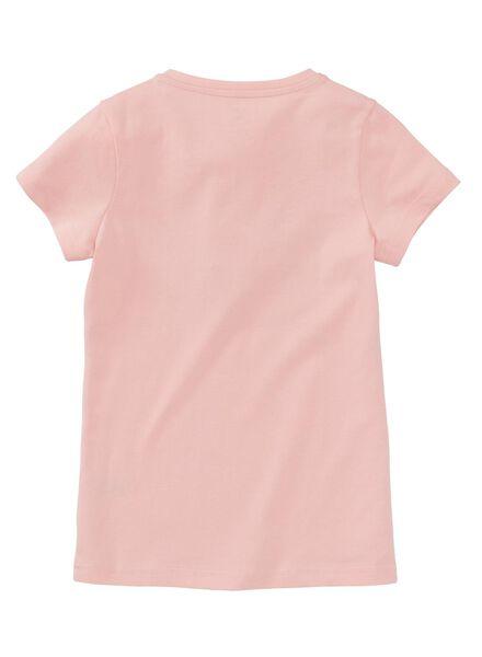 kinder t-shirt lichtroze lichtroze - 1000008474 - HEMA