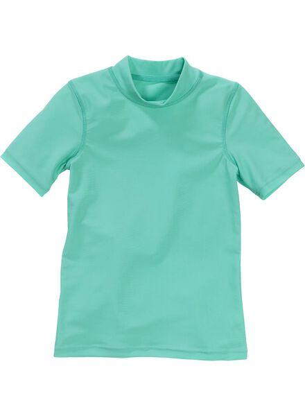 meisjes uv shirt turquoise turquoise - 1000002687 - HEMA