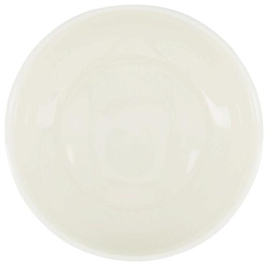 schaal - 9.5 cm - Rome - new bone - wit - 9602048 - HEMA