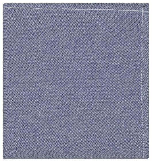 theedoek - 65 x 65 - katoen - chambray - 5490041 - HEMA