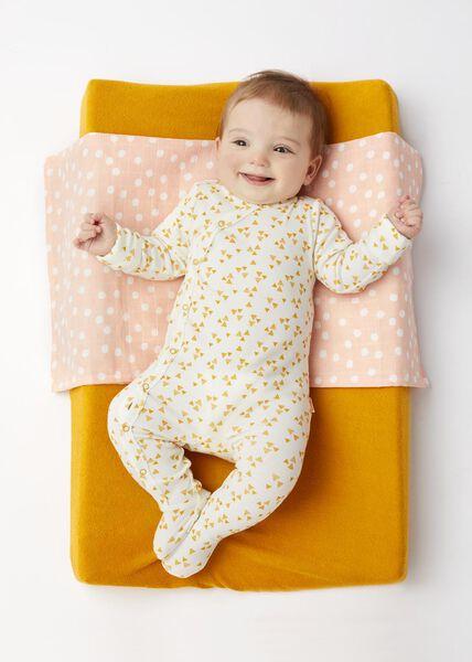 newborn jumpsuit met bamboe wit wit - 1000017634 - HEMA