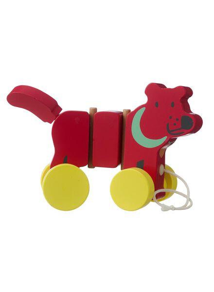 houten trekdier hond - 15110168 - HEMA