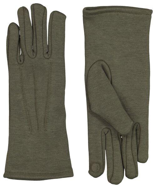 dameshandschoenen groen - 1000020582 - HEMA