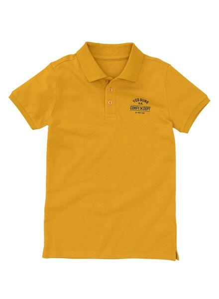 kinderpolo geel geel - 1000008220 - HEMA
