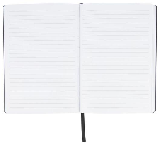notitieboek gelinieerd A5 glitters - 14126672 - HEMA