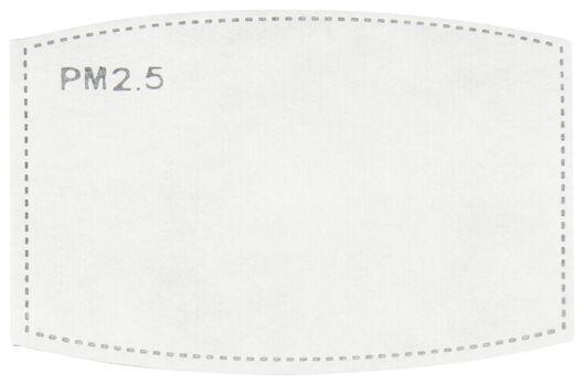 filters voor mondkapjes stof - 5-laags - 10 stuks - 12000021 - HEMA