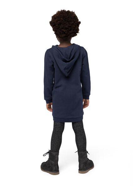 kinder sweatjurk donkerblauw donkerblauw - 1000015568 - HEMA