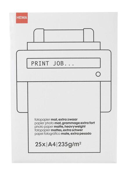 Mat fotopapier - in Papier