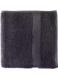handdoek 50 x 100 cm zware kwaliteit donkergrijs