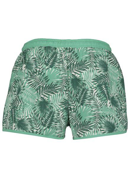 dames pyjamashort katoen groen groen - 1000014166 - HEMA