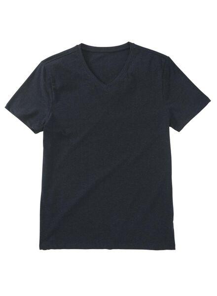 heren t-shirt donkerblauw donkerblauw - 1000009200 - HEMA