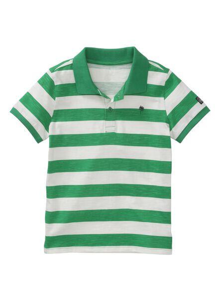 kinder poloshirt groen groen - 1000013278 - HEMA