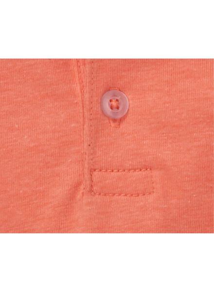 baby polo fluor roze fluor roze - 1000012976 - HEMA