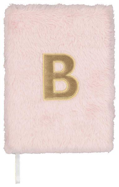 Notitieboek A5 fluffy letter B