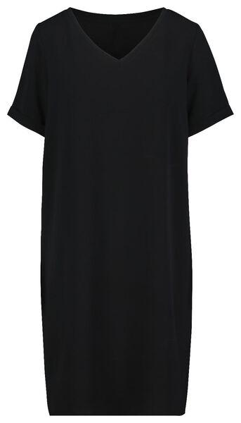 damesjurk zwart zwart - 1000019241 - HEMA