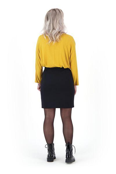 dames top okergeel okergeel - 1000021014 - HEMA